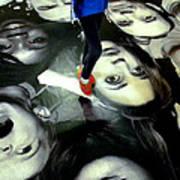 Walking Paris Poster