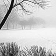 Walking Through A Winter Wonderland Poster