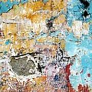 Wall Abstract 124 Poster