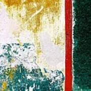 Wall Abstract 71 Poster