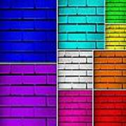 Wall Color Wall Poster by Semmick Photo