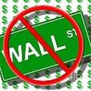 Wall Street No Poster