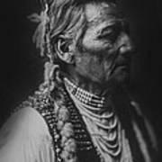 Walla Walla Indian Circa 1905 Poster