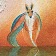 Wallaby Spirit Poster