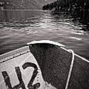 Wallowa Lake Poster