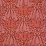 Wallpaper Design Poster by Victorian Voysey