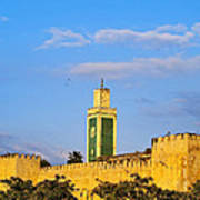 Walls Of Meknes In Morocco Poster
