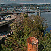 Walnut Street Bridge Chattanooga Poster