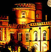 Walpole House At Night Poster