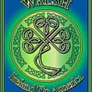 Walsh Ireland To America Poster