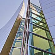 Walt Disney Concert Hall Vertical Exterior Building Frank Gehry Architect 6 Poster