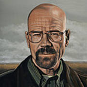 Walter White Poster by Paul Meijering