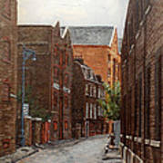 Wapping High Street East London Poster