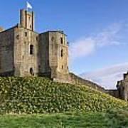 Warkworth Castle In Spring Poster