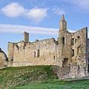 Warkworth Castle Panorama Poster