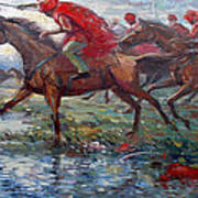 Warriors In Return Poster