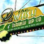 Wash And Brush Up Co. Poster