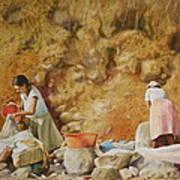 Washerwomen Poster