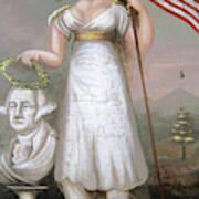 Washington & Liberty, C1810 Poster