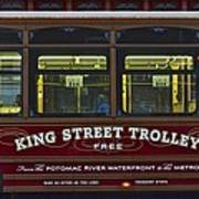 Washington Dc Trolley Poster