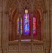 Washington National Cathedral Colors Poster