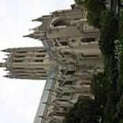 Washington National Cathedral - Washington Dc - 011350 Poster