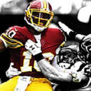 Washington Redskins Rg3 Poster