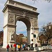 Washington Square Arch New York City Poster