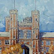 Washington University - Winter Morning Poster