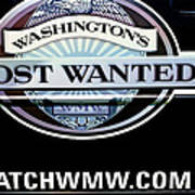 Washington's Most Wanted Poster