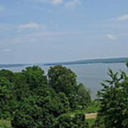 Washington's View From Mt. Vernon Poster