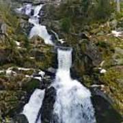 Wasserfalle Poster
