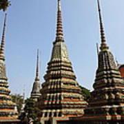 Wat Pho - Bangkok Thailand - 011319 Poster