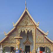 Wat Phra Singh Phra Wihan Luang Gable Dthcm0238 Poster