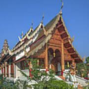 Wat Phuak Hong Phra Wihan Dthcm0582 Poster