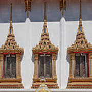 Wat Sapum Thammaram Ubosot Windows Dthp227 Poster