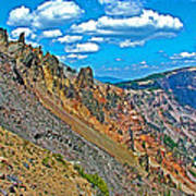 Watchman Overlook In Crater Lake National Park-oregon Poster
