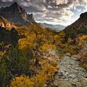 Watchman Sunset Poster by Joseph Rossbach