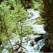 water fall Lolo pass 2 Poster