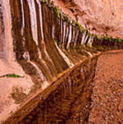 Water Is Life - Coyote Gulch - Utah Poster