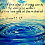 Water Of Life Poster by Amanda Dinan