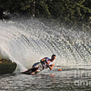 Water Skiing 12 Poster