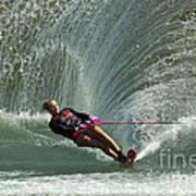 Water Skiing Magic Of Water 27 Poster
