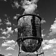 Water Tower At Mt Diablo Poster