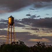 Water Tower Nm Poster