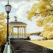 Water Works And Boathouse Row Poster