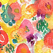 Watercolor Garden Poster