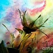 Watercolor Roses Poster