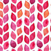 Watercolor Seamless Pattern. Colorful Poster