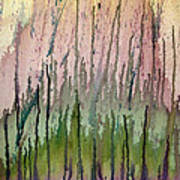 Watercolors Running Poster